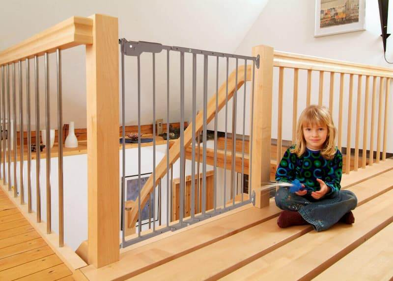 Can You Use Pressure Mounted Gate Top Stairs?