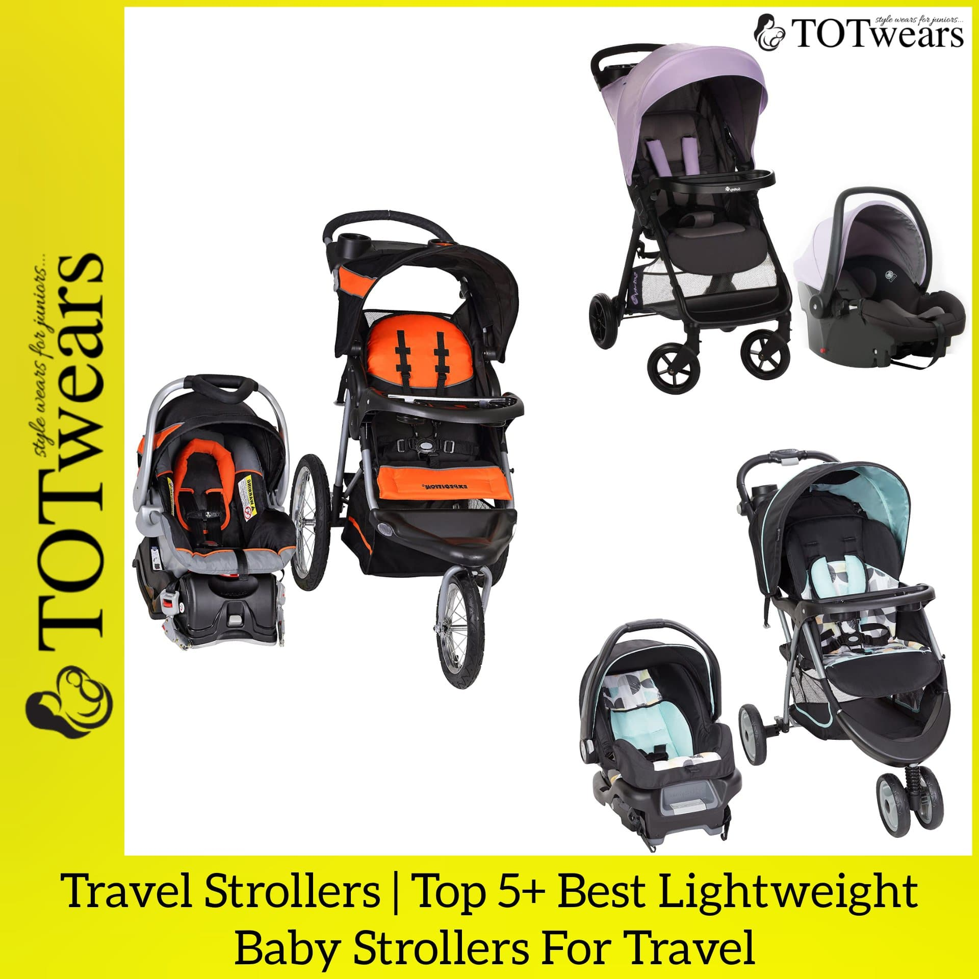 best lightweight baby strollers for travel