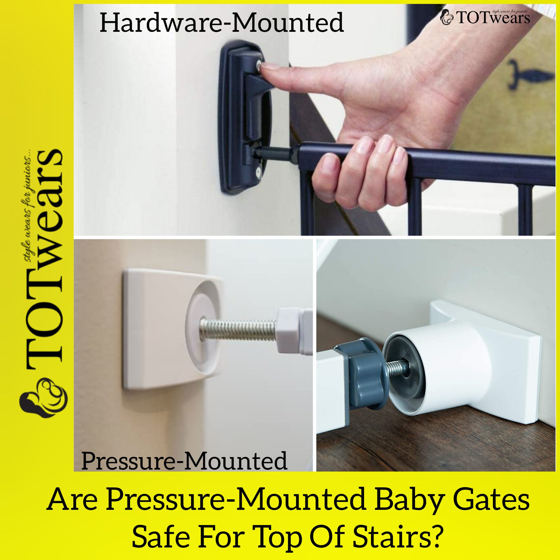 FAQ - Can You Use Pressure Mounted Gate Top Stairs?